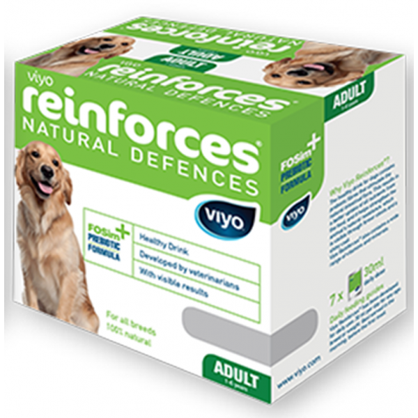 VIYO REINFORCES DOG ADULT 7 X  30 ML.
