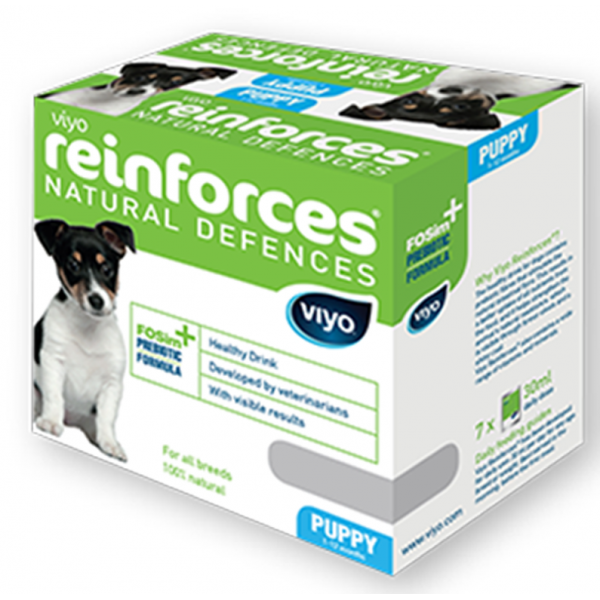 VIYO REINFORCES DOG PUPPY 7 X  30 ML.