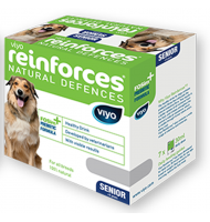 VIYO REINFORCES DOG SENIOR 7 X  30 ML.