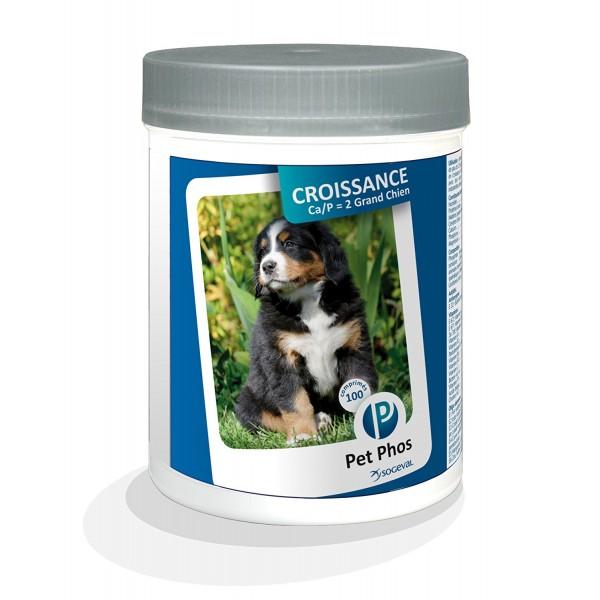 PET PHOS CROISSANCE CA/P  2 SPECIAL GRAND CHIEN 100 TB.