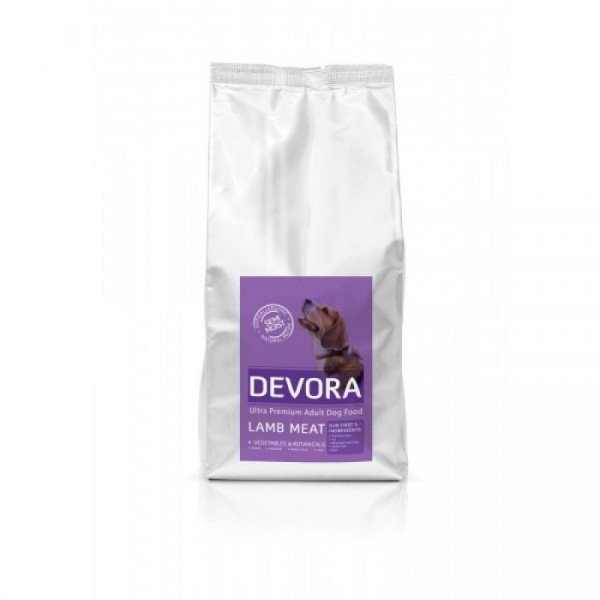 DEVORA SEMIMOIST LAMB AND RICE 5 KG