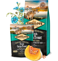 CARNILOVE FRESH CARP AND TROUT