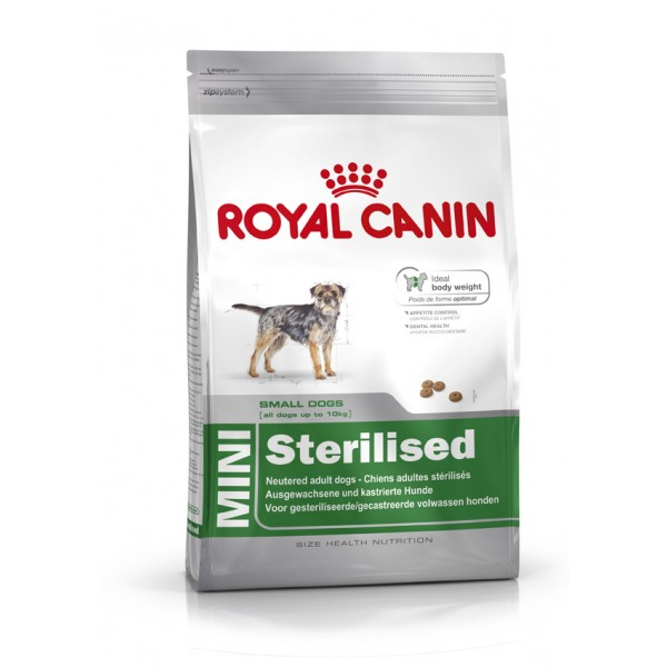 Royal Canin Mini Sterilised Adult 8 kg.