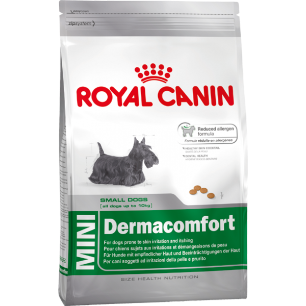 Royal Canin Mini Dermacomfort 10 Kg.