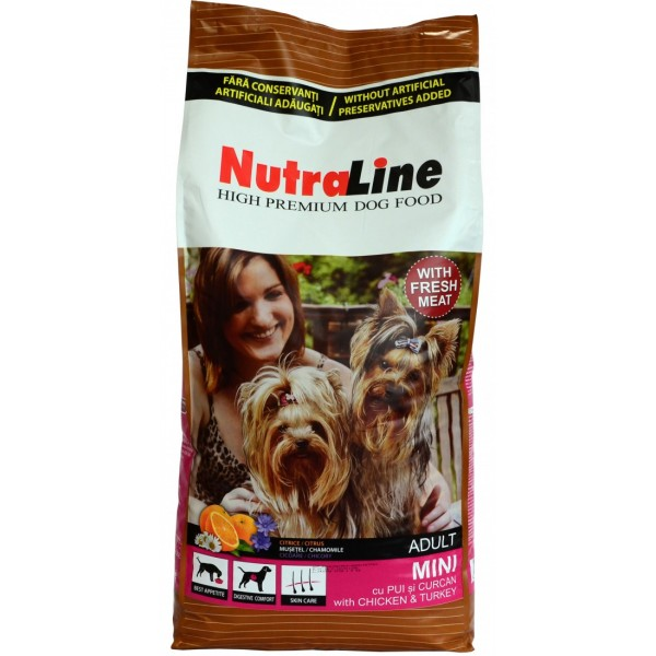 NUTRALINE ADULT MINI 12.5 KG.