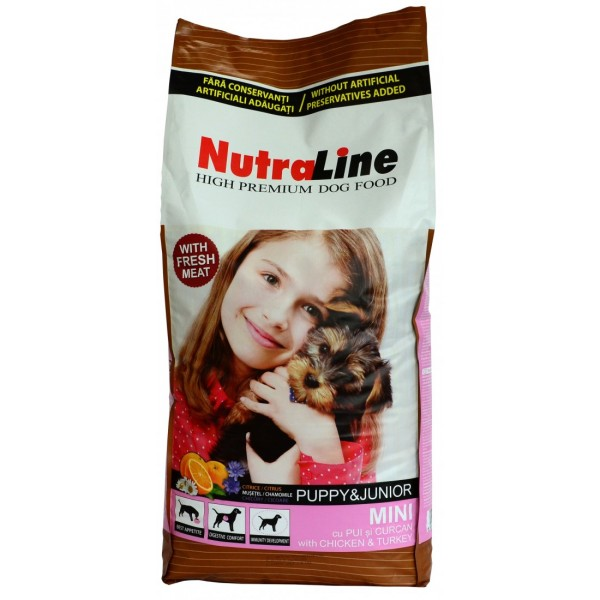 NUTRALINE PUPPY&JUNIOR MINI 8 KG.