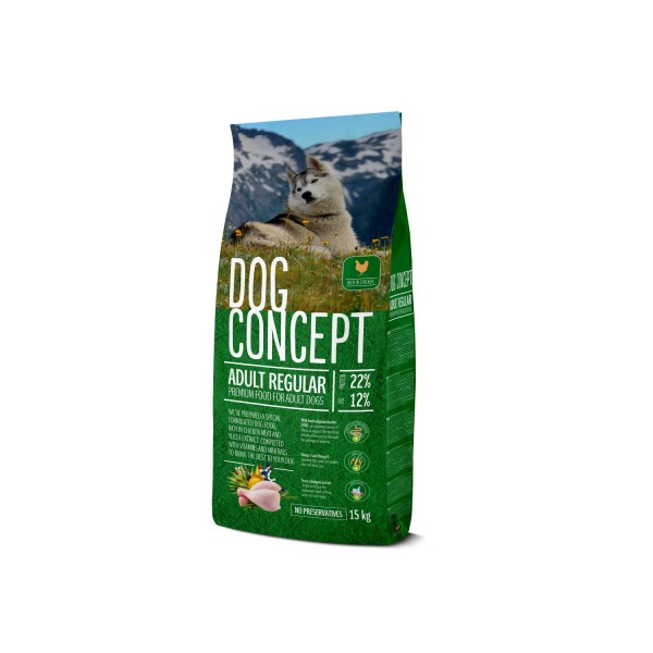 DOG CONCEPT ADULT REGULAR 15 KG