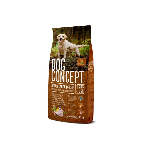 DOG CONCEPT ADULT LARGE BREED 15 KG