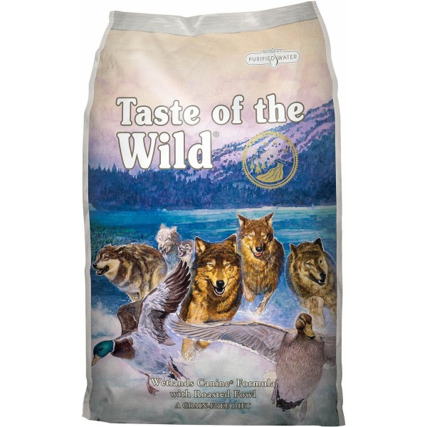 TASTE OF THE WILD WETLANDS 13 KG.