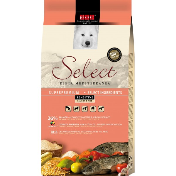 SELECT SENSITIVE SOMON&OREZ 15 KG