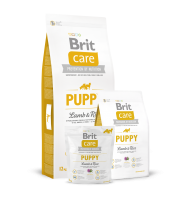 BRIT CARE PUPPY LAMB AND RICE 12 KG.