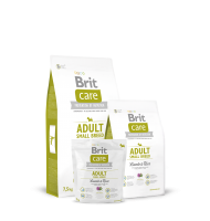 BRIT CARE ADULT SMALL BREED LAMB AND RICE 7.5 KG.