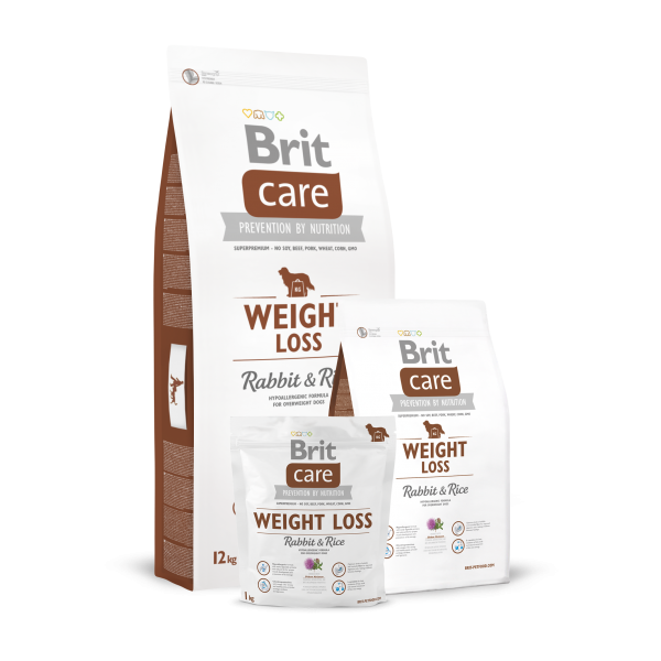 BRIT CARE WEIGHT LOSS RABBIT AND RICE 12 KG.