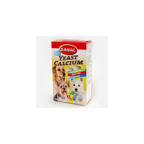 SANAL DOG YEAST CALCIUM