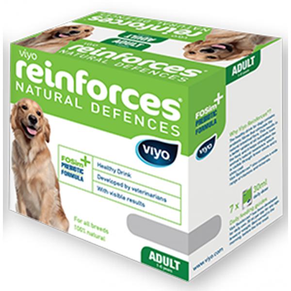 VIYO REINFORCES DOG ADULT 7 X  30 ML.