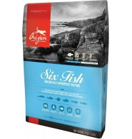 ORIJEN SIX FISH 11,4 KG,
