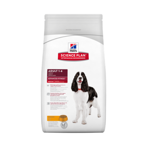 HILL'S Science Plan™ Canine Adult Advanced Fitness™ Medium 12 Kg.