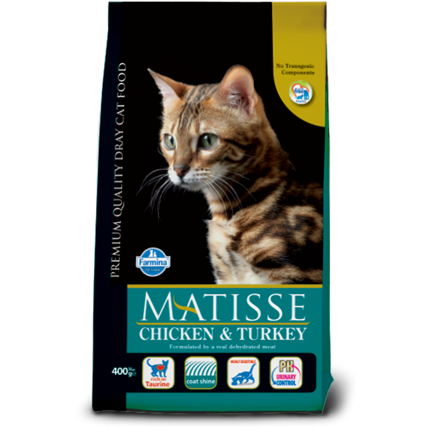 MATISSE CHICKEN AND TURKEY 10 KG.