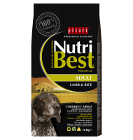 NUTRIBEST ADULT LAMB & RICE 15 KG