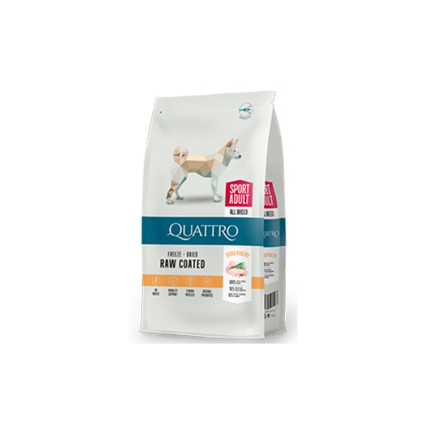 QUATTRO ADULT ACTIVE ALL BREED EXTRA POULTRY