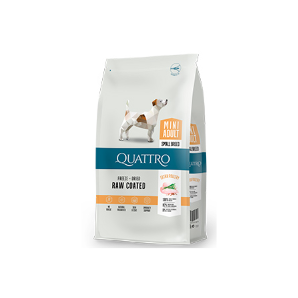 QUATTRO ADULT MINI BREED EXTRA POULTRY