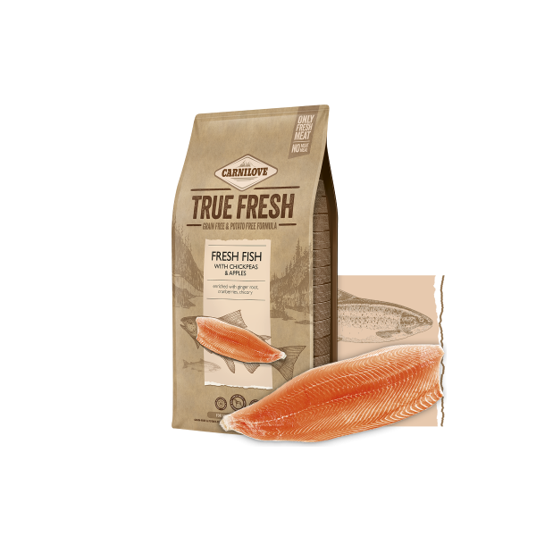 CARNILOVE TRUE FRESH FISH FOR ADULT DOGS