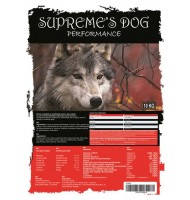 SUPREME'S DOG PREMIUM PERFORMANCE 10 KG.
