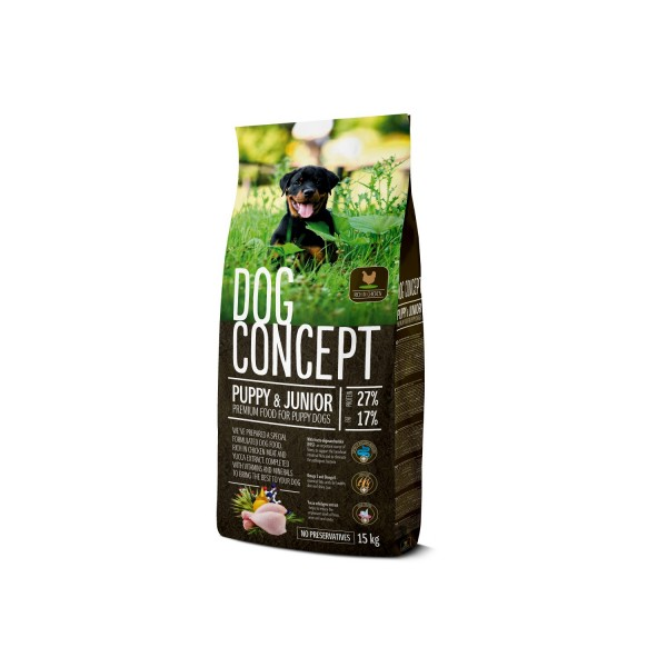 DOG CONCEPT PUPPY&JUNIOR 15 KG