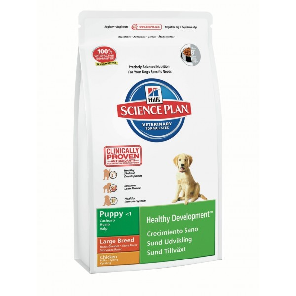 Hill's Science Plan™ Puppy Healthy Development™ Large Breed Chicken
