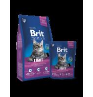 BRIT PREMIUM CAT LIGHT 8 KG.